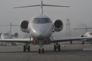airplane close up