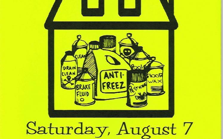 AVRRDD Household Hazardous Waste Collection Day Poster